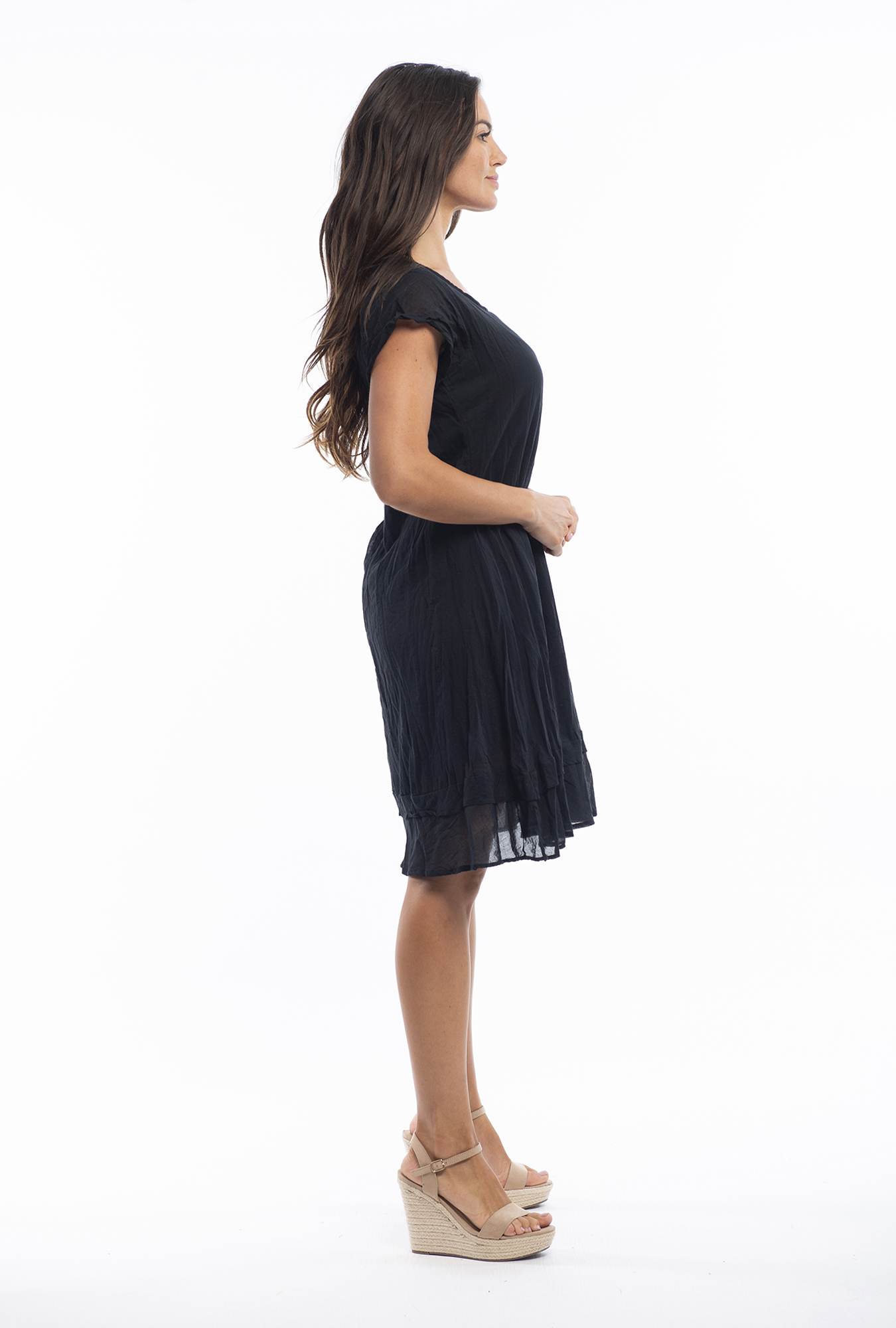 Stacey Dress in Black