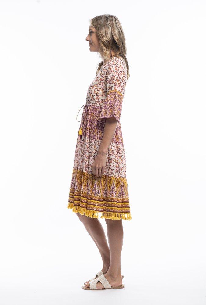 Matilda Dress in Villa Venade
