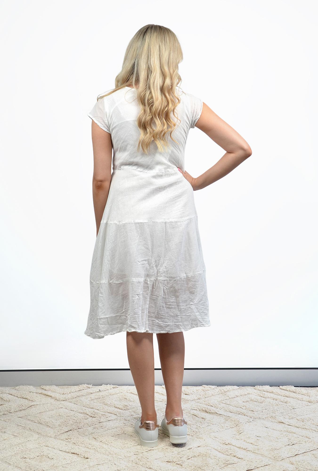 Vivi dress in White