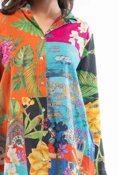Botanic Patch Digital Tunic
