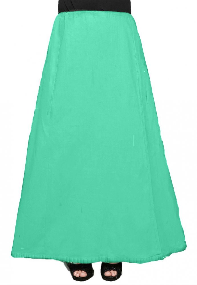 Ankle Length Under Skirt / Petticoat in Teal Green