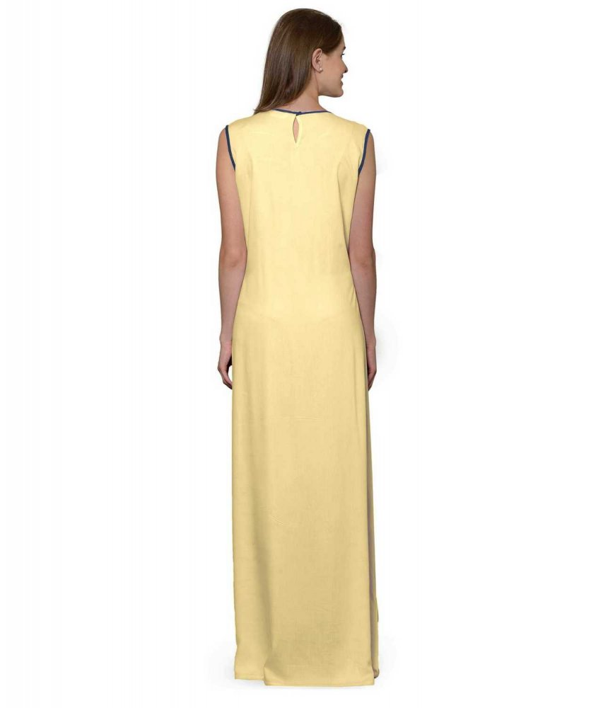 Color Block Maxi Dress or Gown  in Grey:Gold