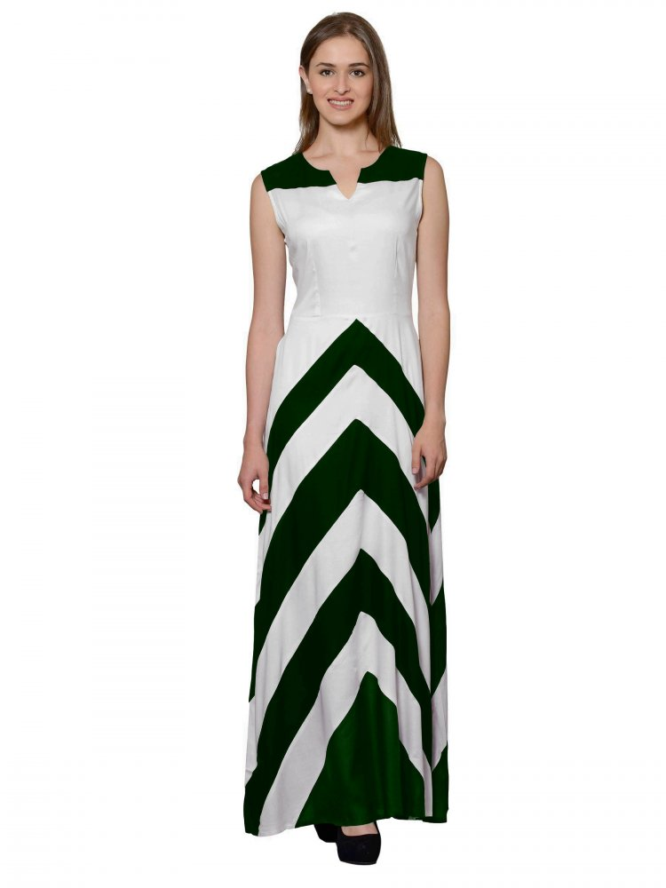 Empire Maxi Dress (White)
