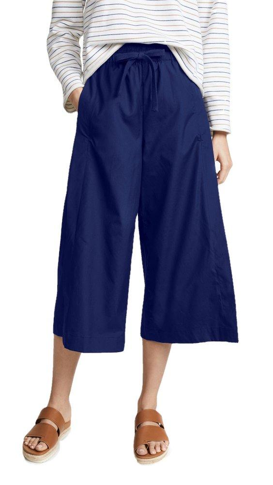 Loose Fit Capri Pant in Royal Blue