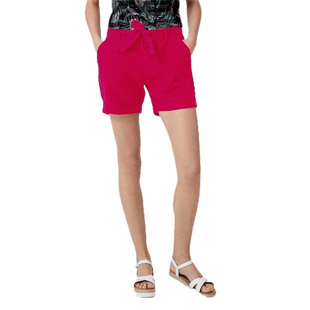 Patrorna Womens Boyfriend Shorts in Fuchsia