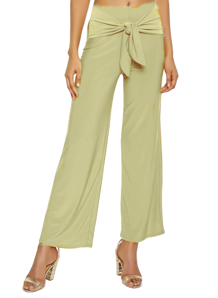Relaxed Fit Culottes Trousers in Cream