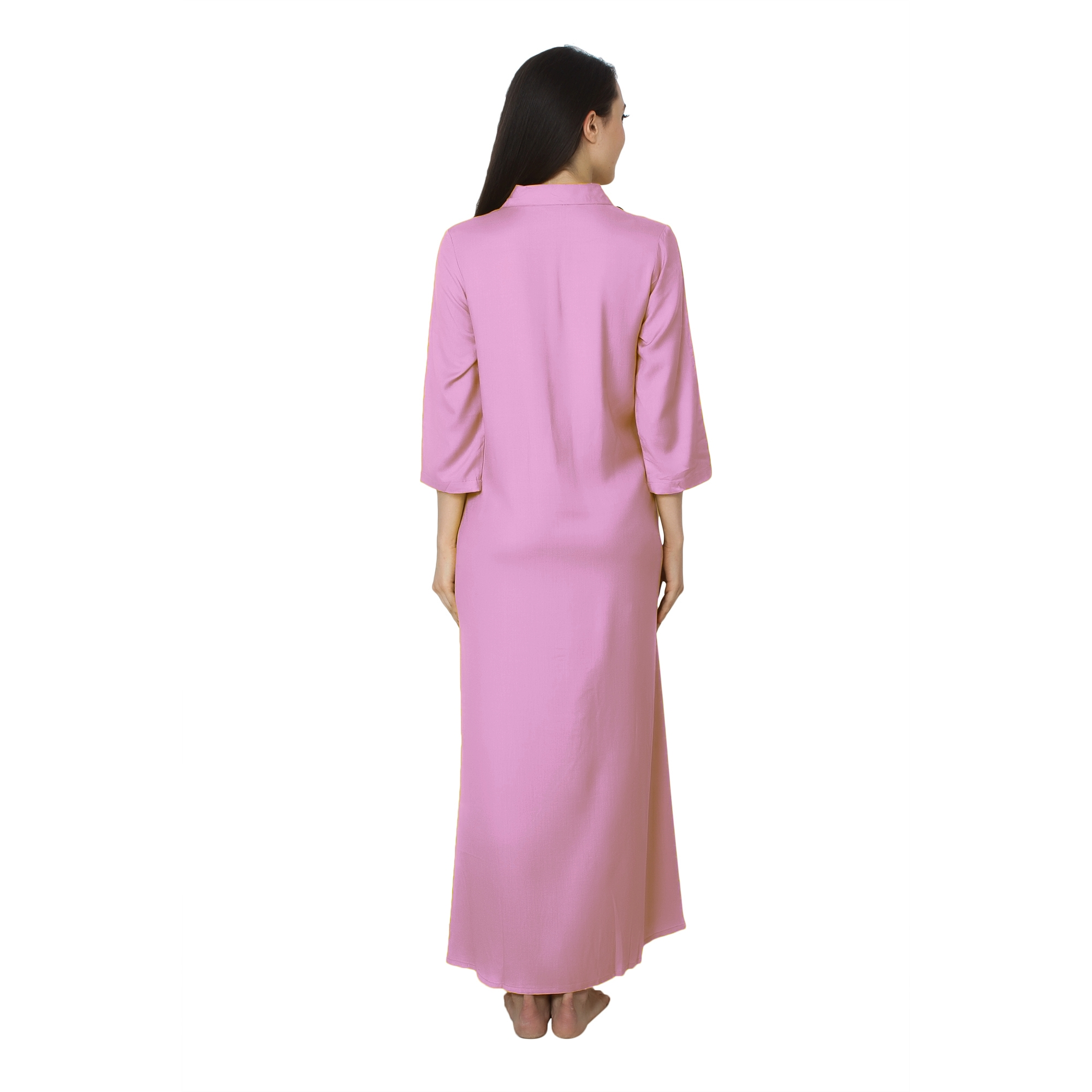 Shift Style ShirtDress in Baby Pink