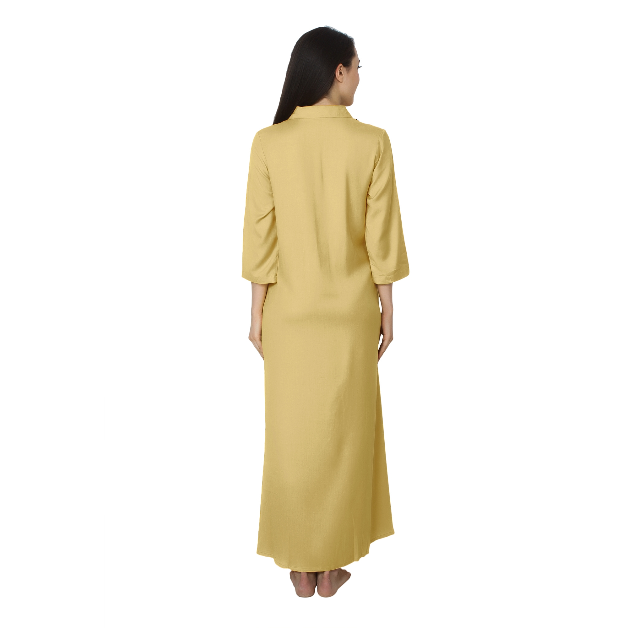 Shift Style ShirtDress in Gold