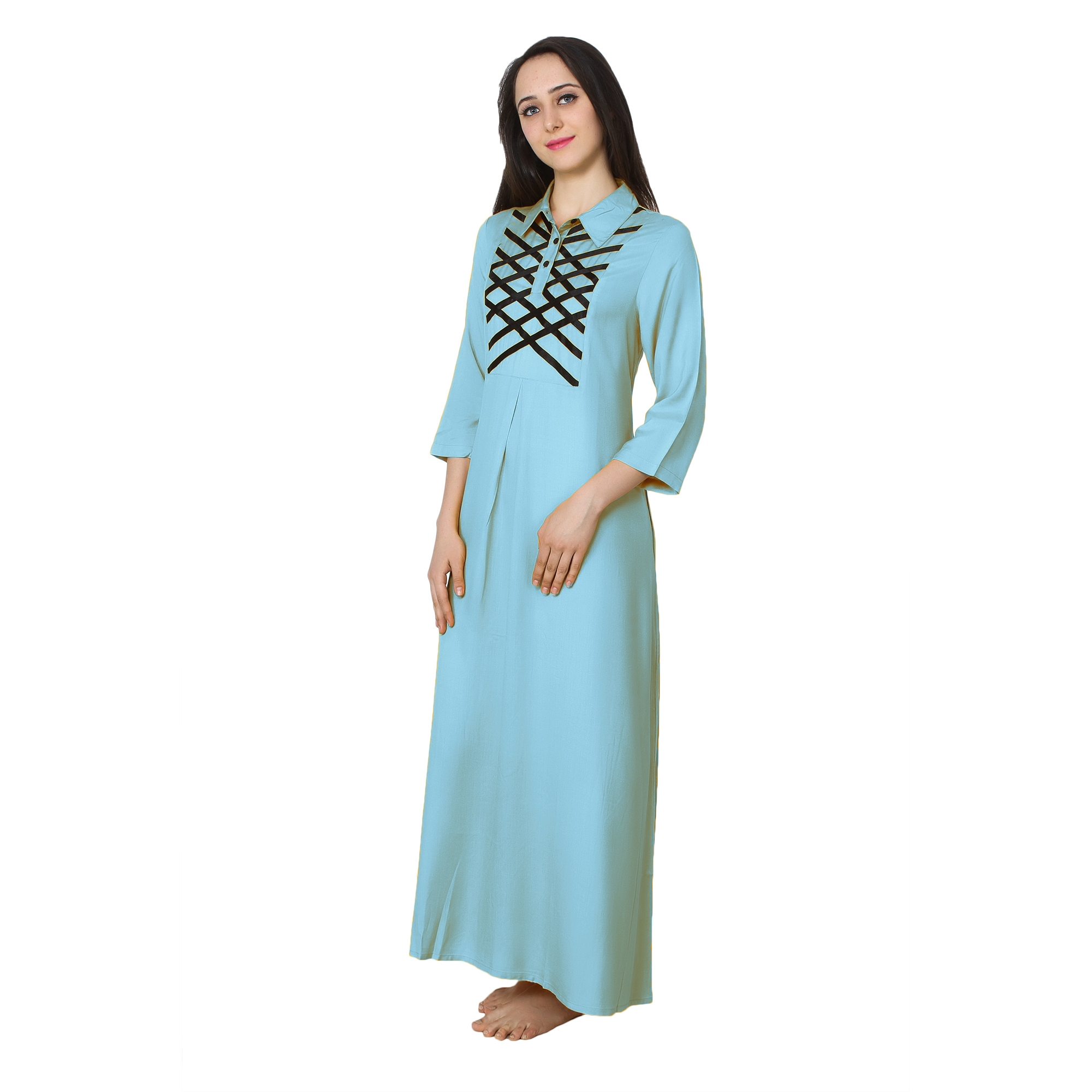 Shift Style ShirtDress in Light Blue