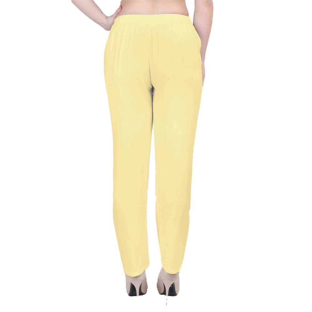 Western Fit Formal Trousers in Gold