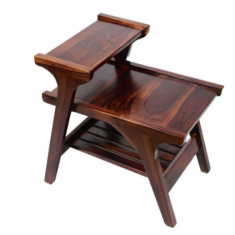 Lofty Coffee Table In Wood