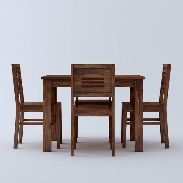 Luzon 4 Seater Wooden Dining Table