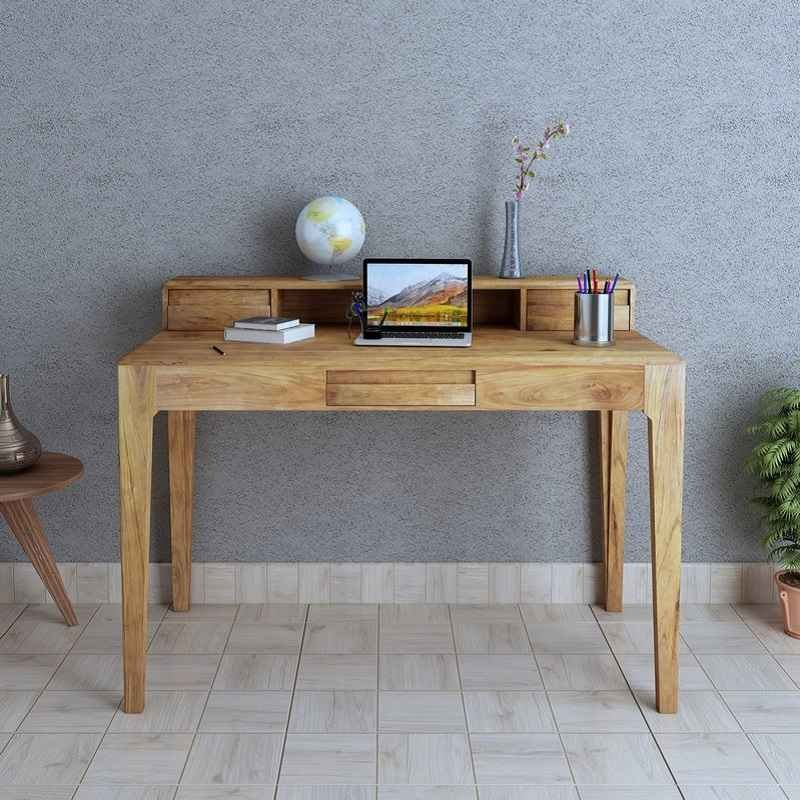Merlin Solid Wood Study Table