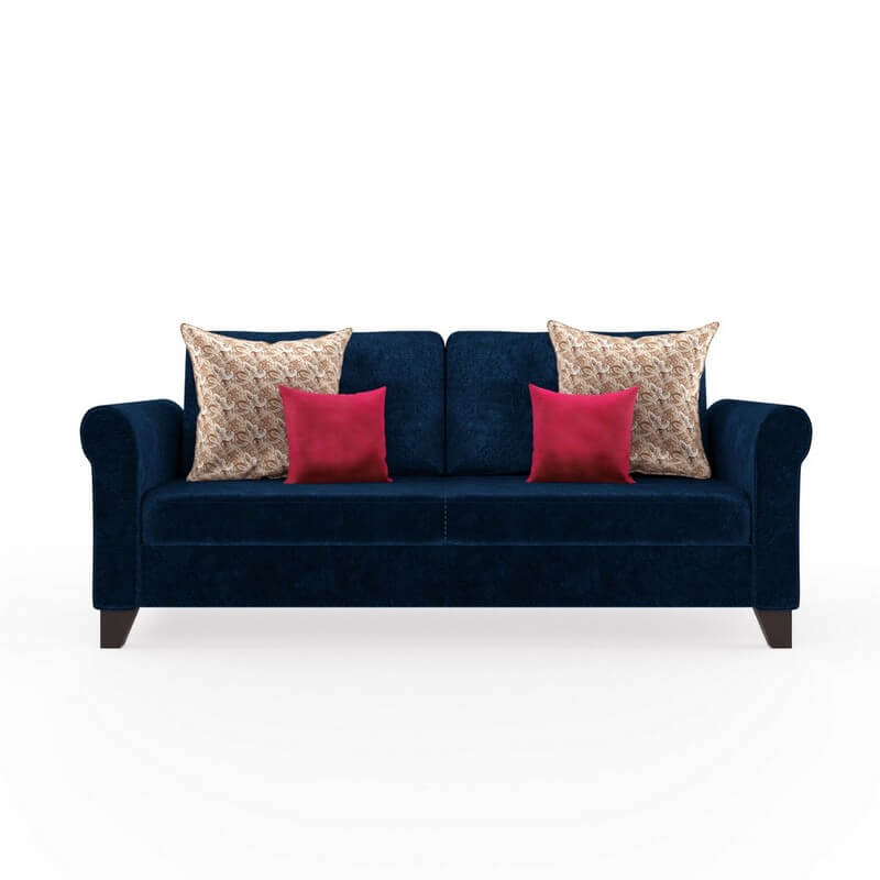 Monarch 2 Seater Sofa Set In Fabric