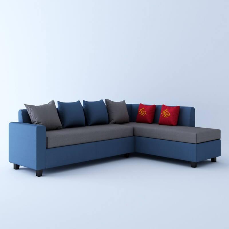 Kodiak L Shape 5 Seater Sofa Set