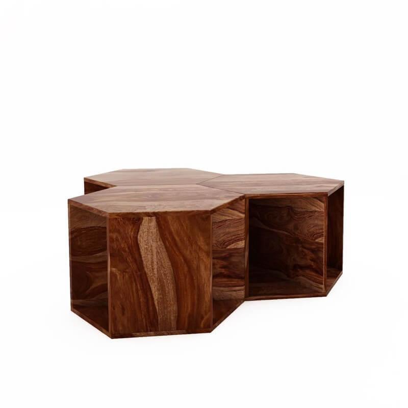 Oamaru Sheesham Wooden Coffee Table