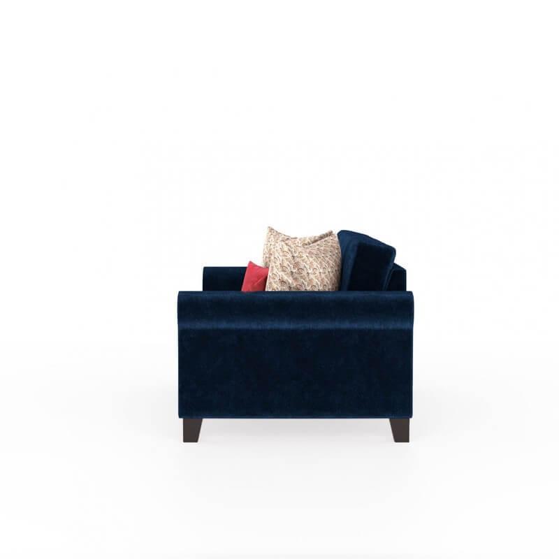 Monarch 3 Seater Fabric Sofa Set