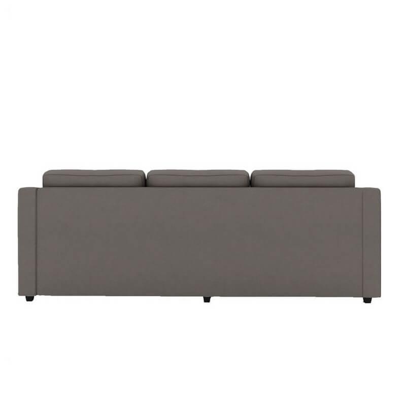 Islay L Shape Sofa Set In Grey Colour