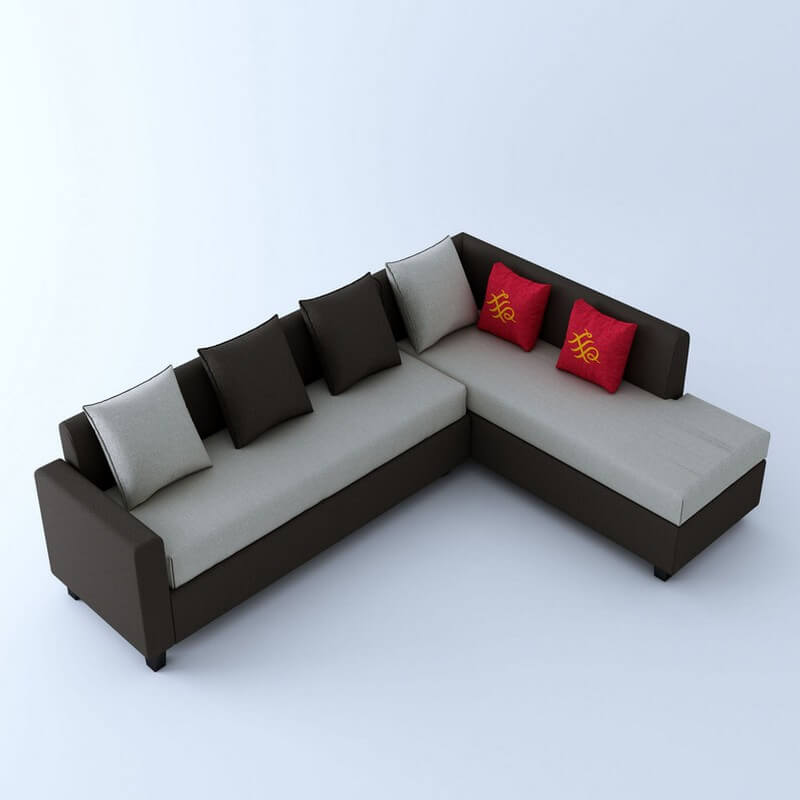 Kodiak 5 seater L Shape Sofa Set