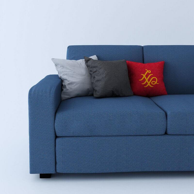 Burrey 3 seater  Fabric Sofa