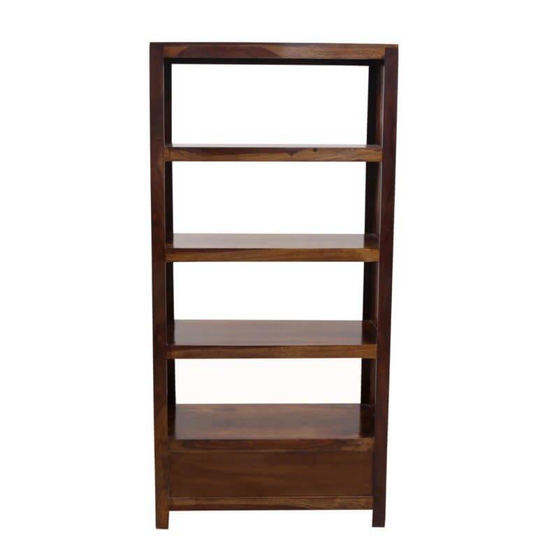 Ailuk Sheesham Wooden Book Shelf
