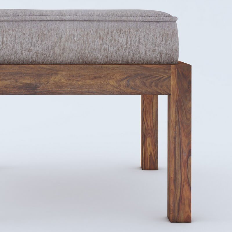 Timor Sheesham Wood Coffee Table With 4 Stools