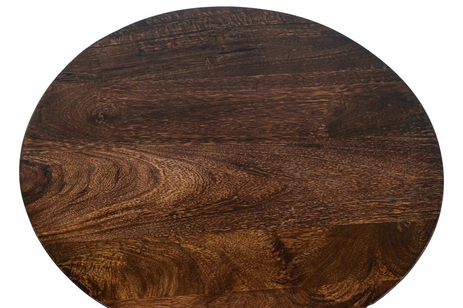 Fraser Wooden Side Table For Living Room