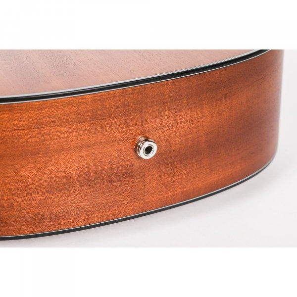 Mantic AG380CE  Semi-Acoustic Guitar With Fishman Electronics -Sapele finish