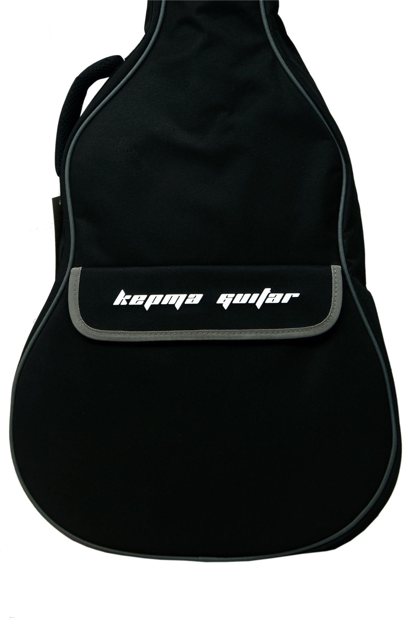 KEPMA BLACK PADDED BAG
