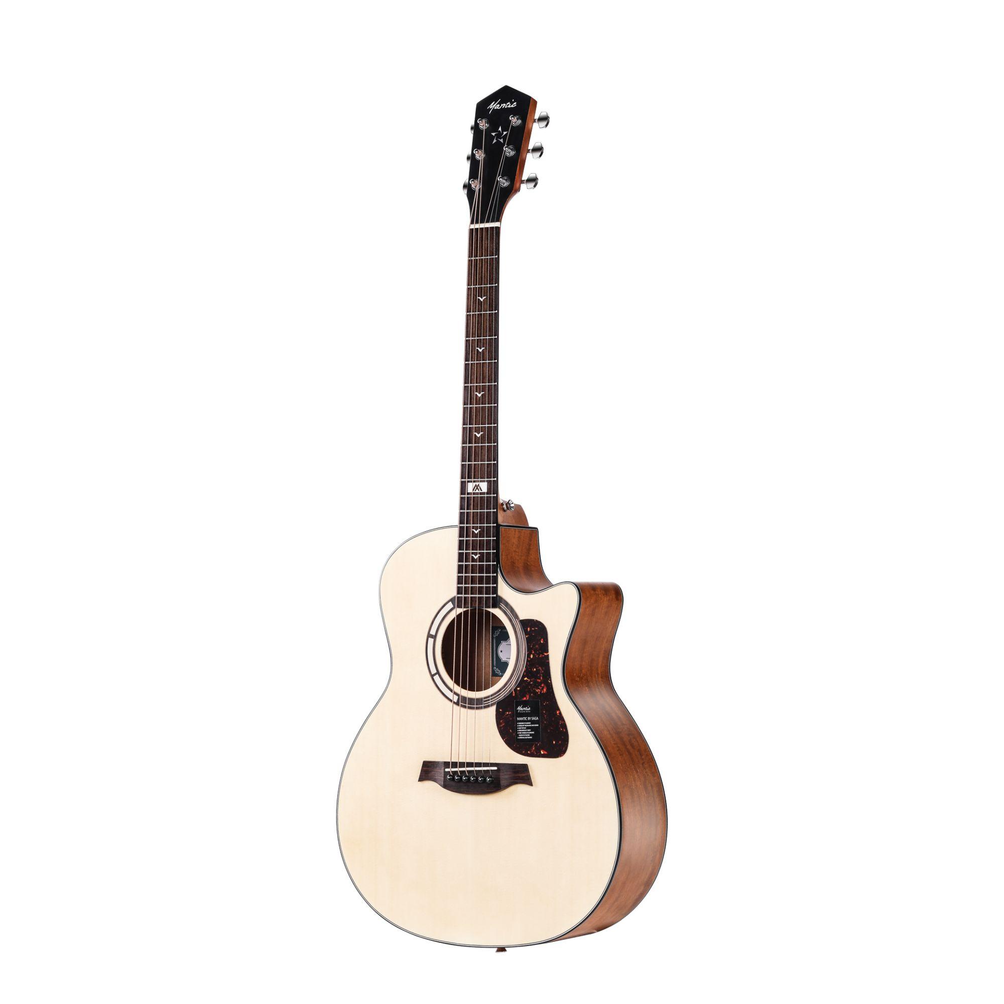 Mantic GT1GC   Acoustic Guitar- Natural