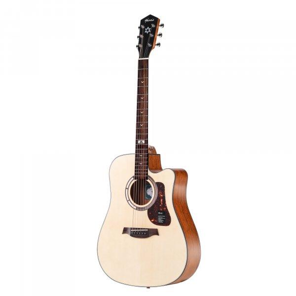 Mantic GT1DC Acoustic Guitar - Natural