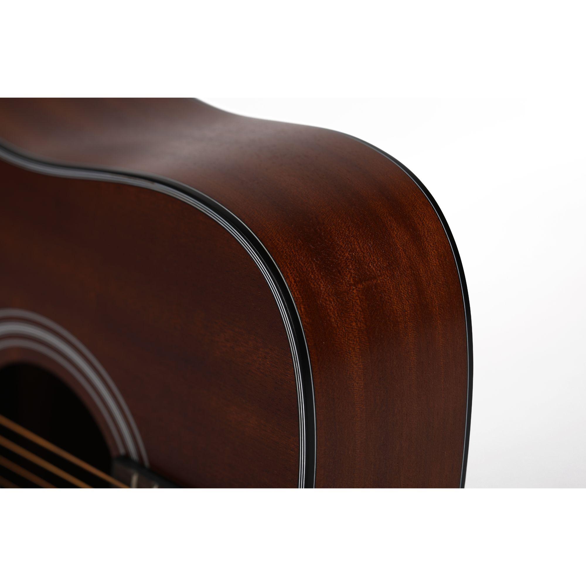 Mantic AG380C  Acoustic Guitar -Sapele finish