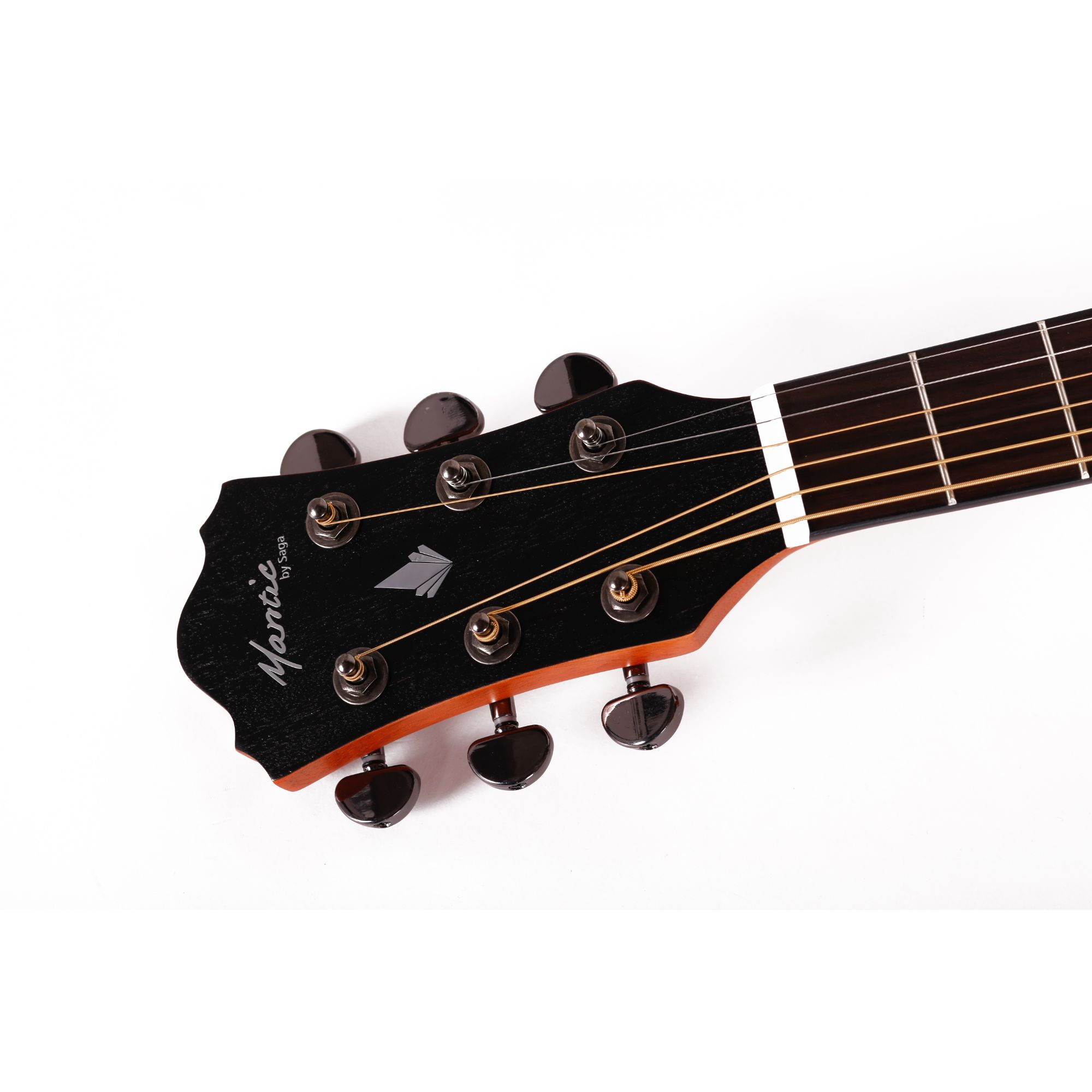 Mantic AG370CE  Semi -Acoustic Guitar with Fishman Electronics -Natural