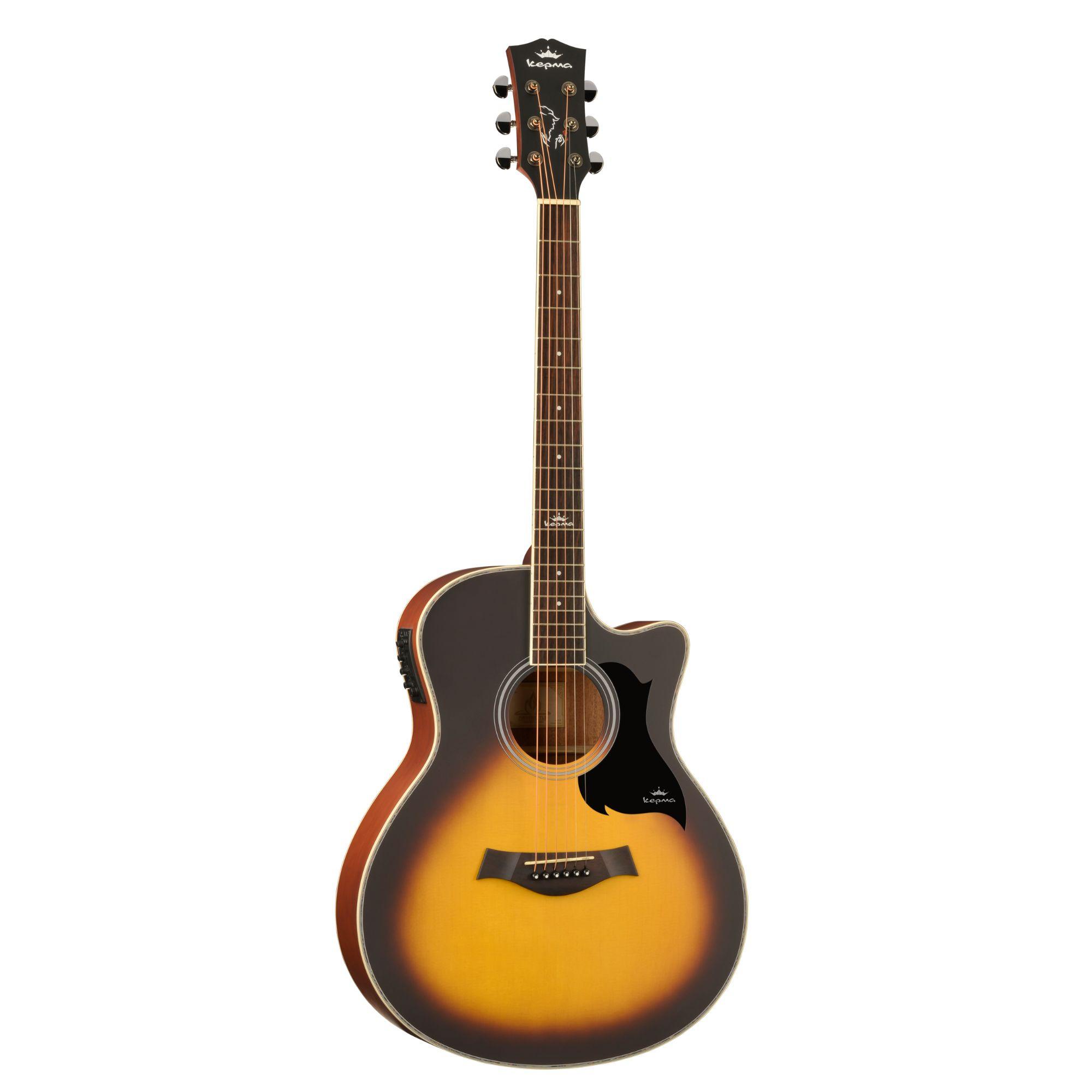 Kepma A1CE - Semi acoustic Guitar