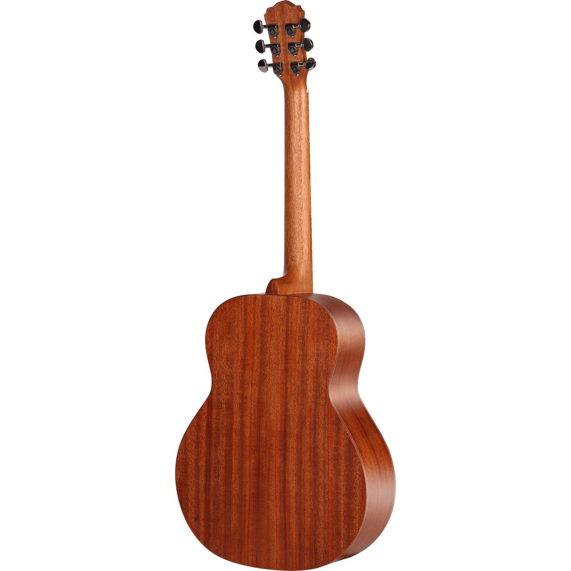 Mantic BG2  Travel Acoustic Guitar -Mahogany finish