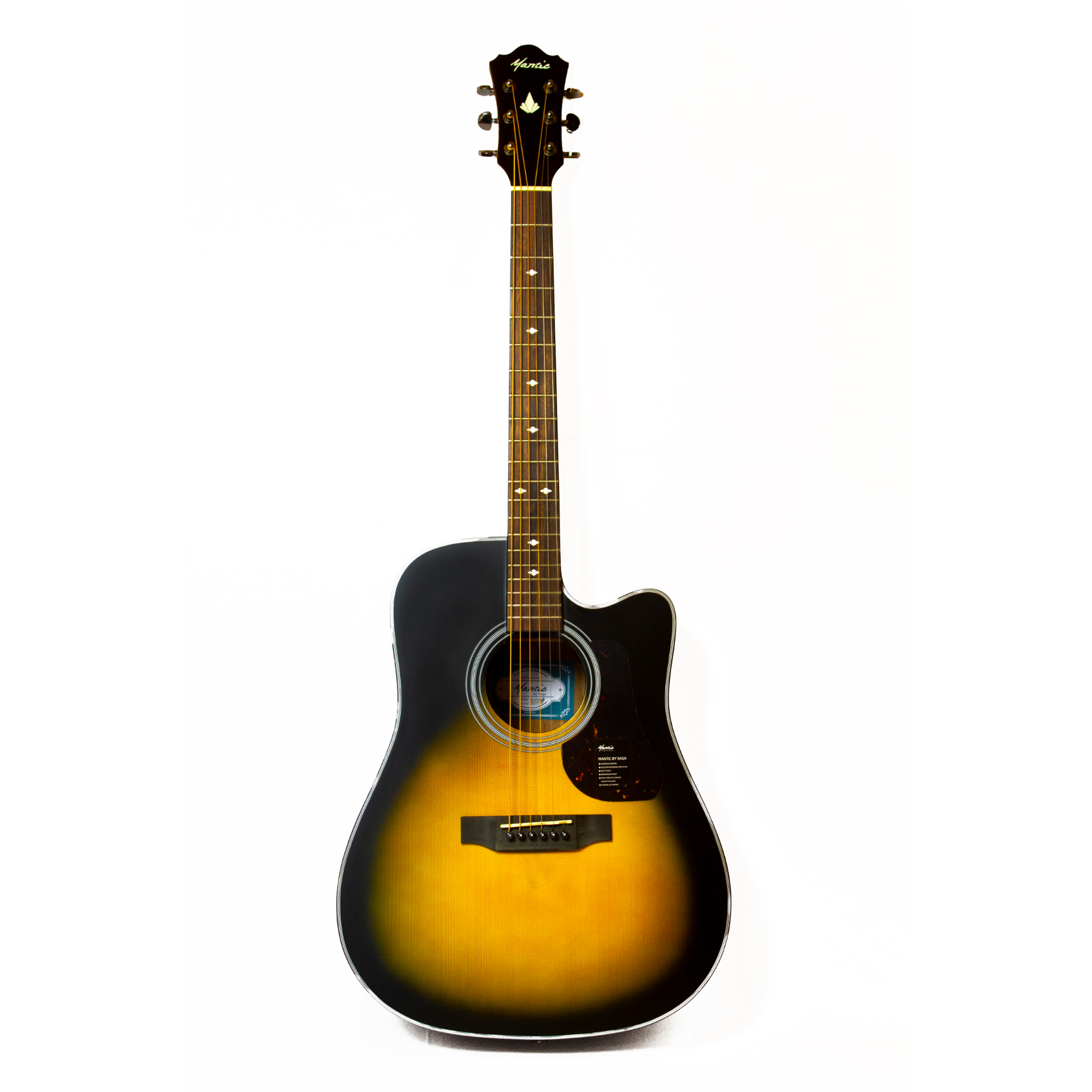 Mantic AG370C  Acoustic Guitar -Sunburst
