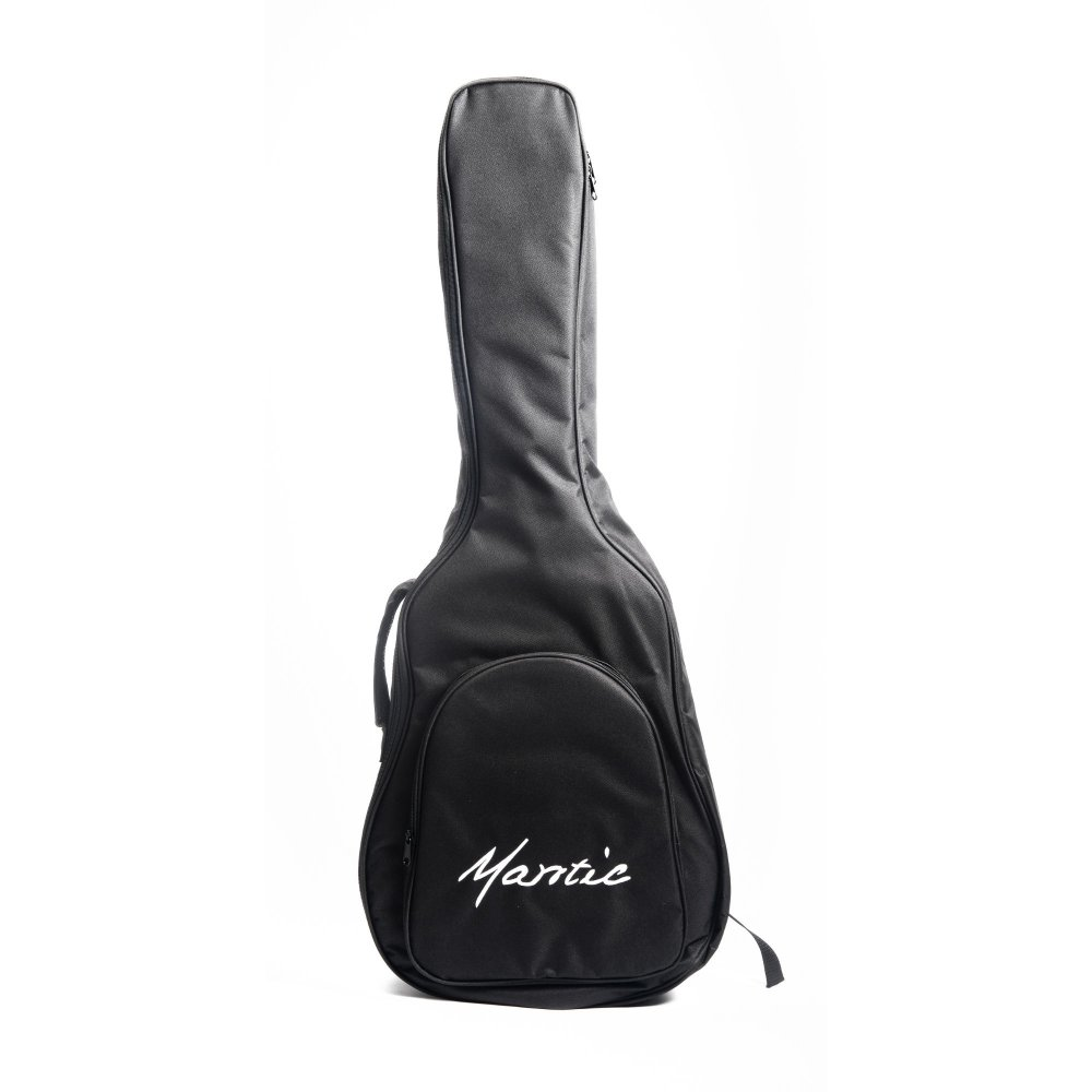Mantic BG1 -E Travel  Semi -Acoustic Guitar with Fishman Electronics - Natural
