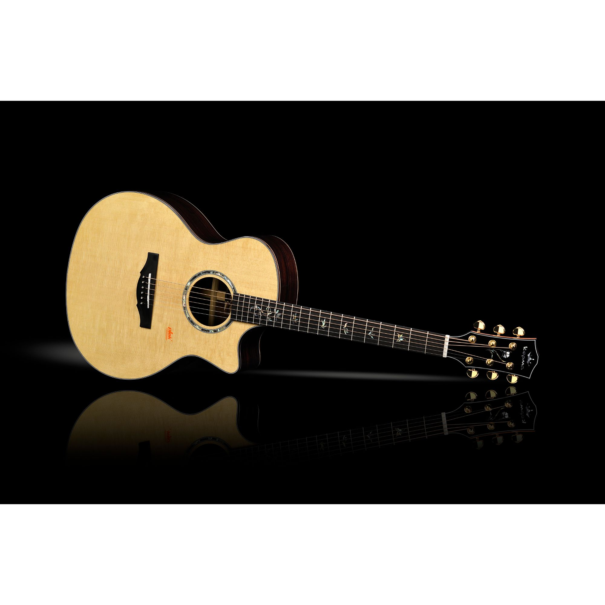Kepma B1GA Grand Auditorium All Solid Guitar