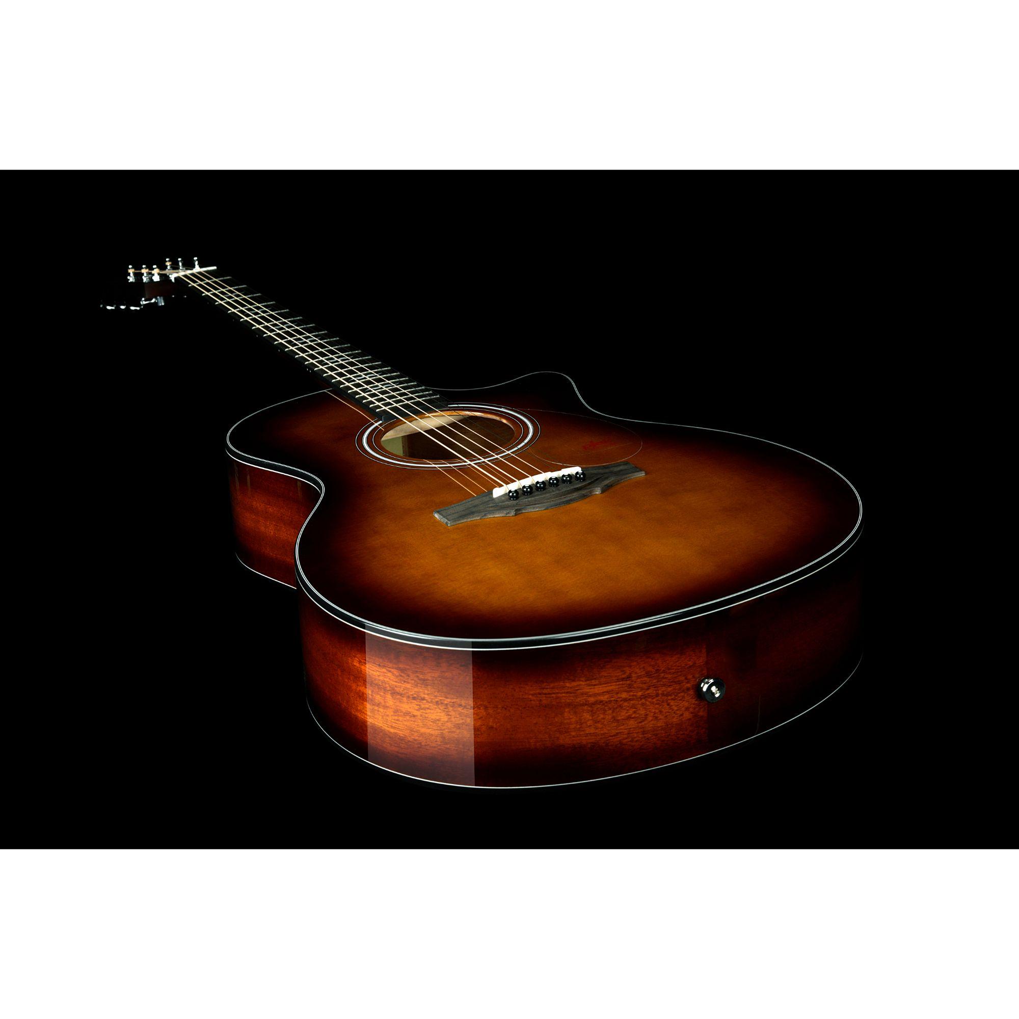 Kepma F1E GA transAcoustic Guitar- Cherry Burst