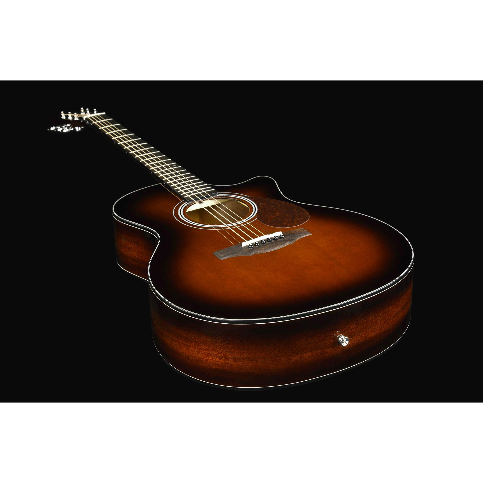 Kepma F0E GA TransAcoustic Guitar - Cherry Burst