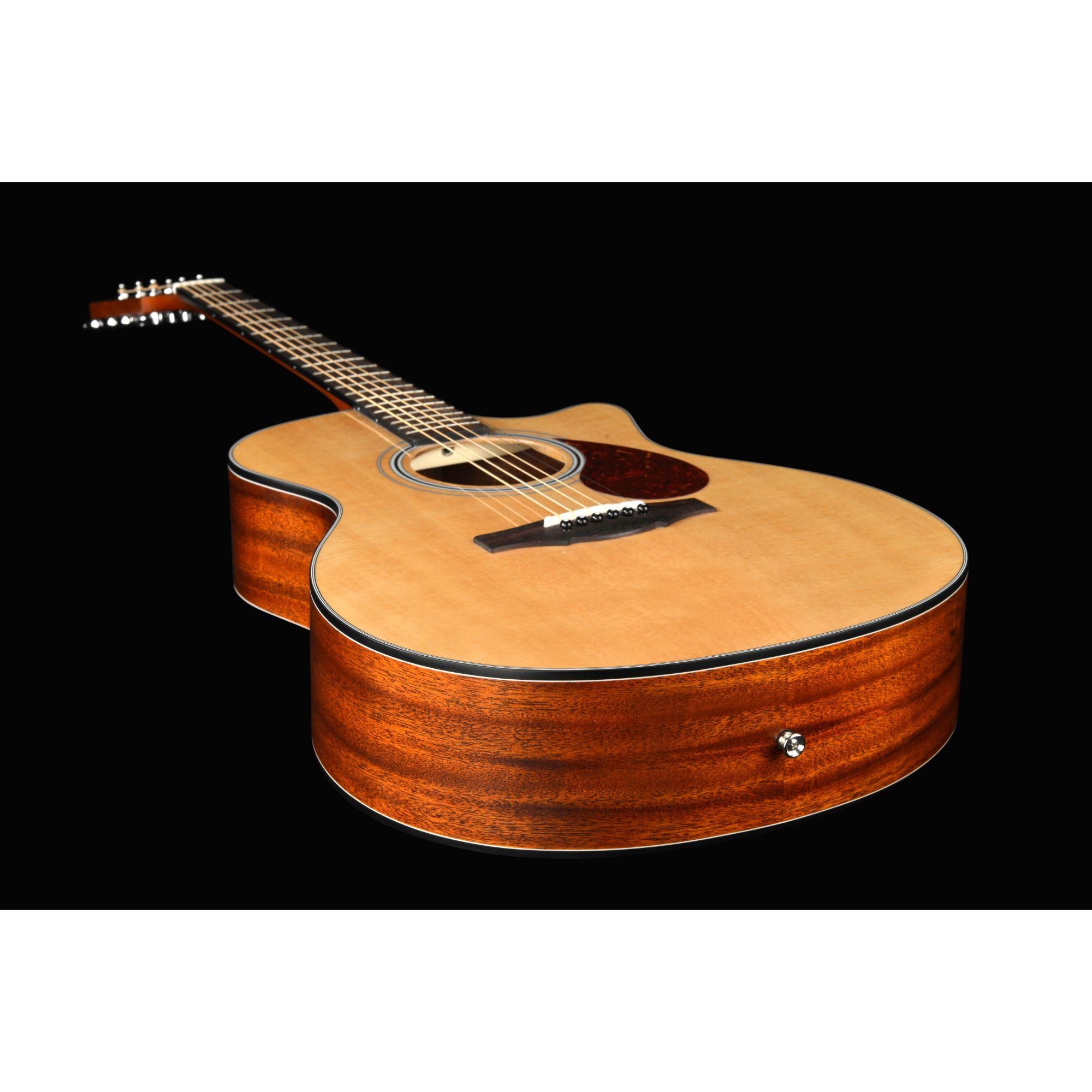 Kepma F0E GA TransAcoustic Guitar - Natural