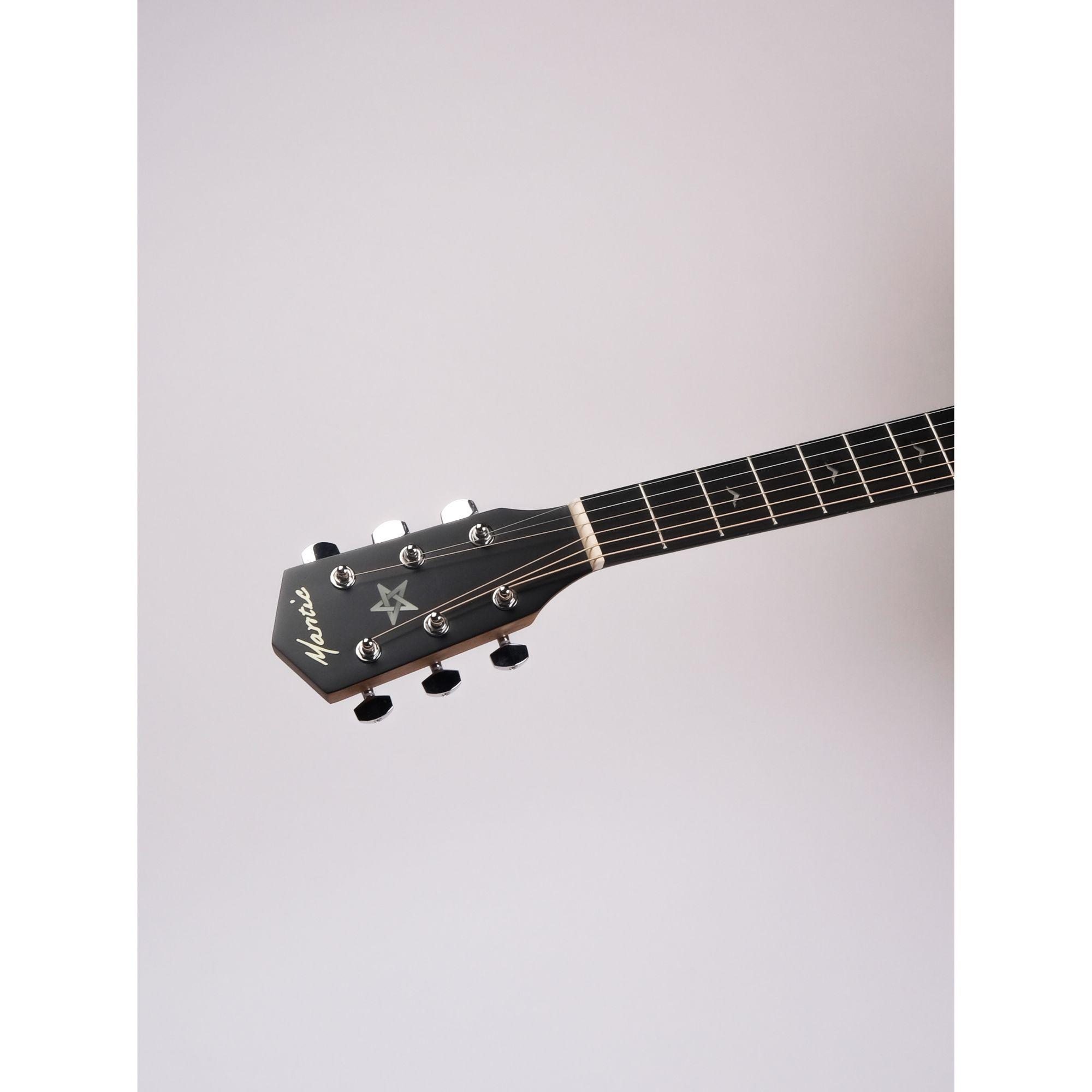 Mantic GT1DC- E Semi- Acoustic Guitar With Fishman Electronics - Natural