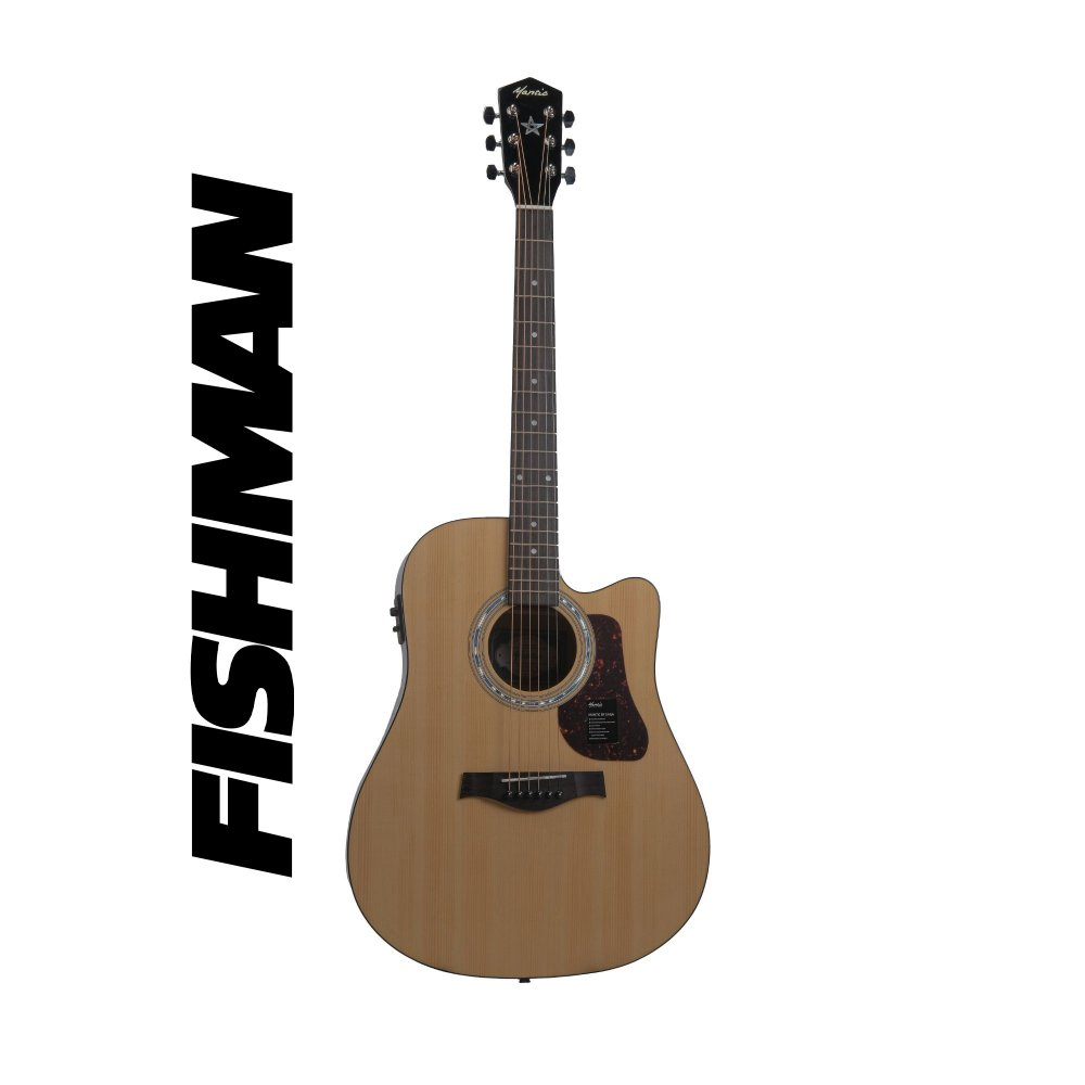 Mantic X310CE Semi-Acoustic  with Fishman Electronics - Natural
