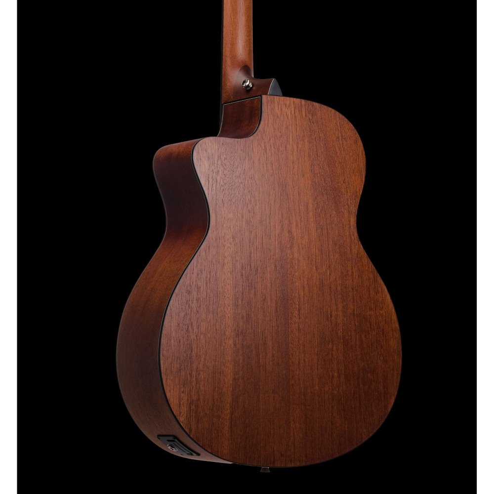 Mantic GT10GC-E Solid Top Semi- Acoustic Guitar with Fishman Electronics - Natural