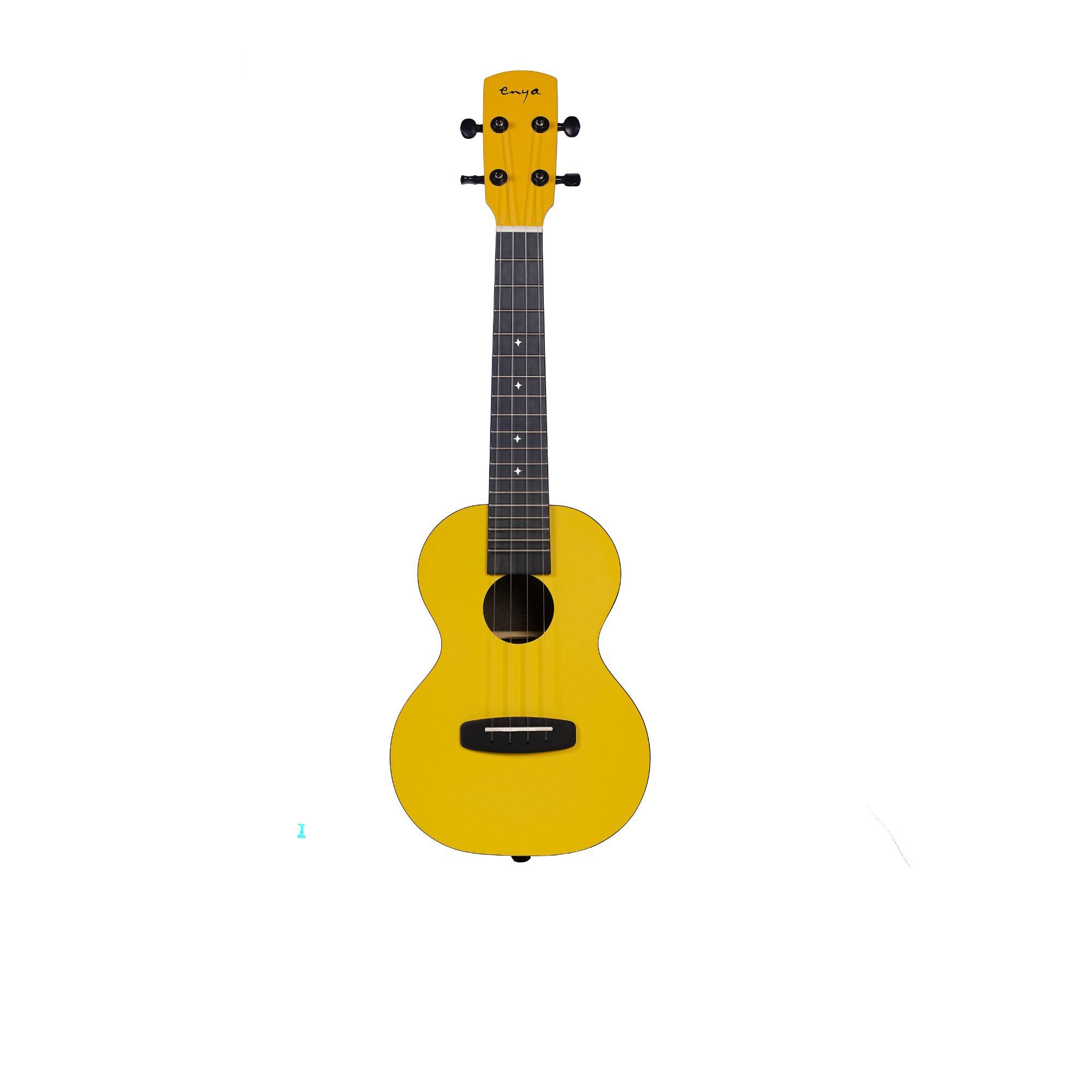 Enya  EUC YE  Concert All HPL Ukulele - Yellow Matt