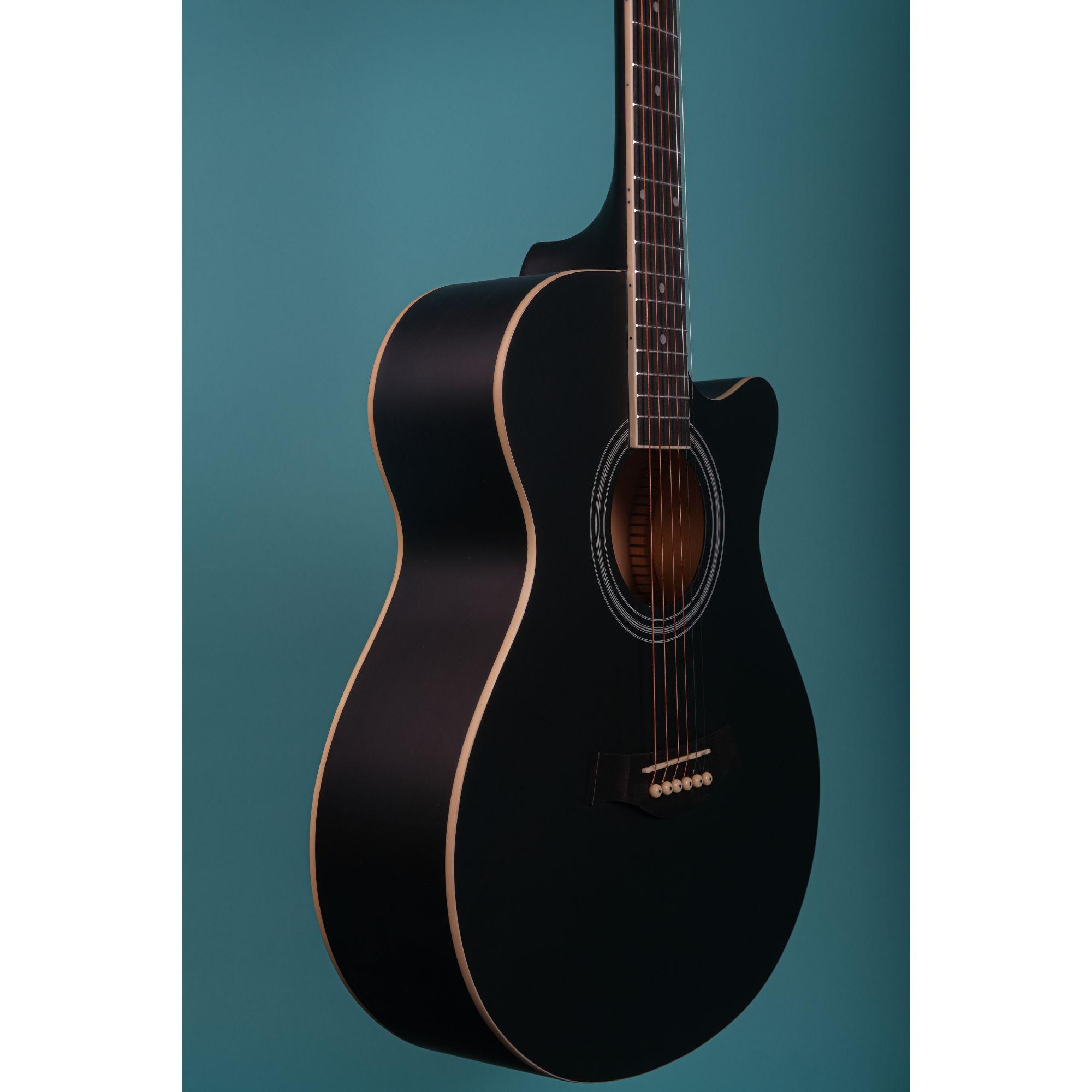 Richtone  RT40C Acoustic Guitar- Black Matte
