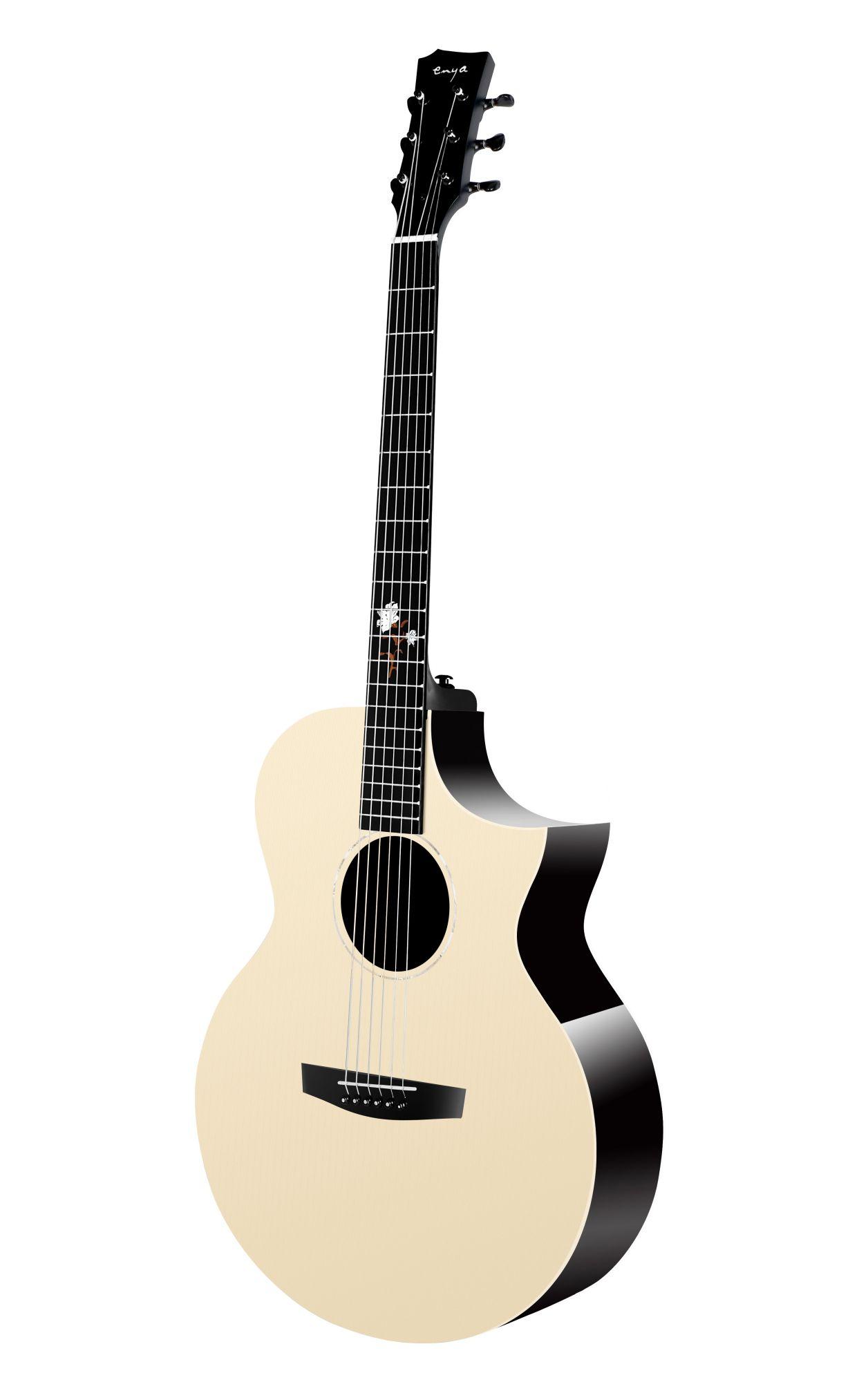 Enya EA-X2C PRO EQ  TransAcoustic Guitar- Natural Glossy Finish