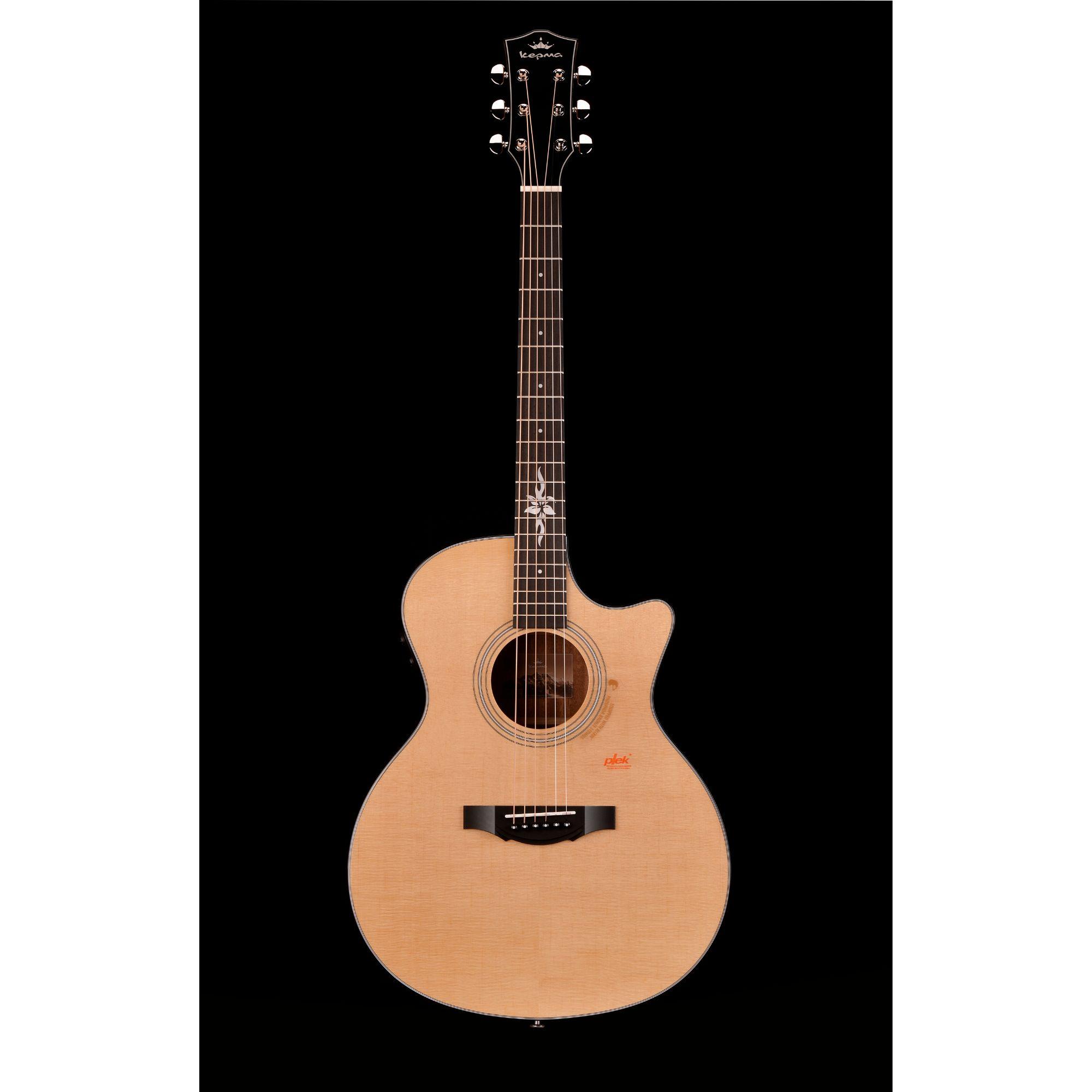 Kepma F1E GA TransAcoustic Guitar Natural