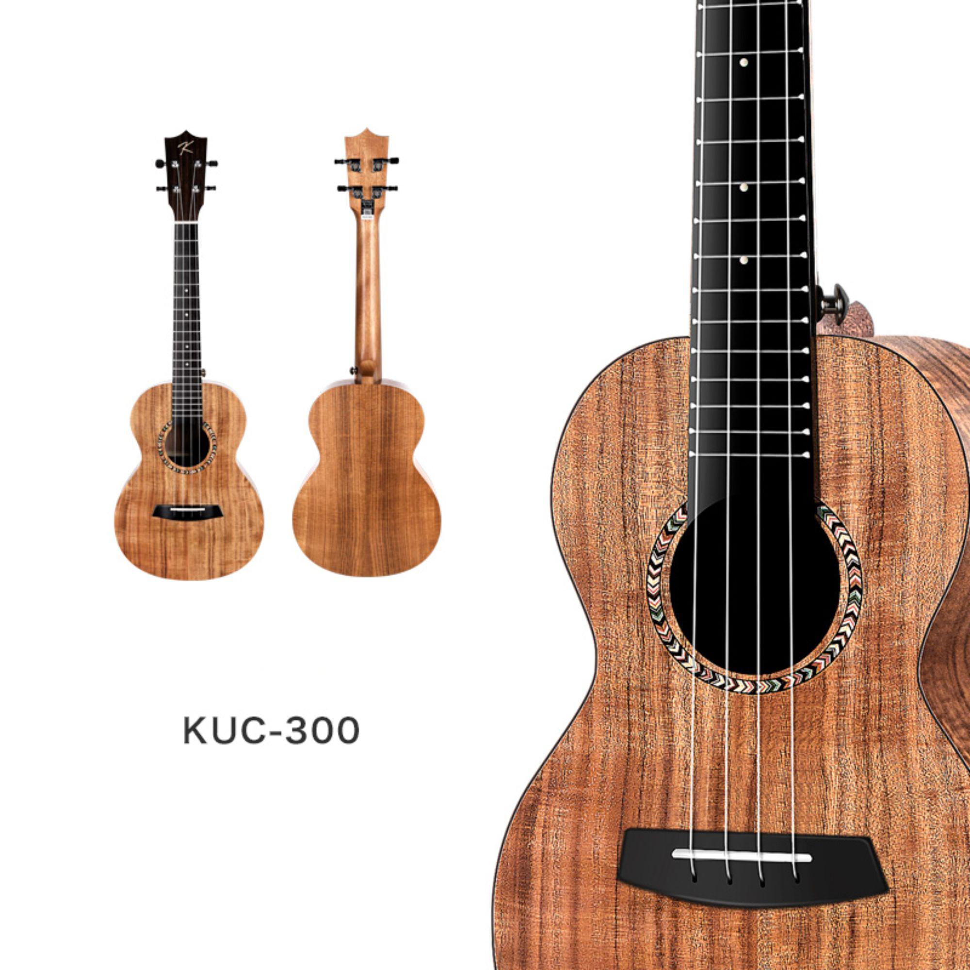 Enya Kaka KUC 300  Concert Ukulele - Koa finish