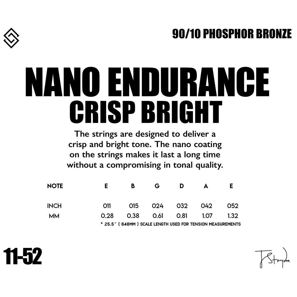 Strydom strings - NANO ENDURANCE 11-52
